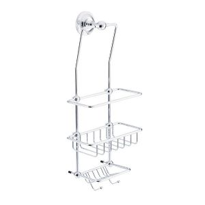 St James Metal Stem Wall Mounted Wire Shower Tidy - SJ620-MS